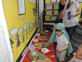 DSCN5206 Projeto do GIII Vespertino mostra as influências da cultura árabe no Brasil