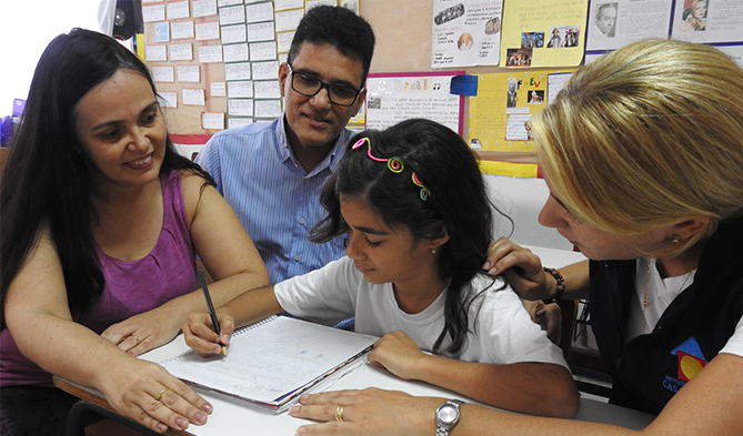 materia_afetividade Afetividade ajuda crianças no desenvolvimento escolar em Natal