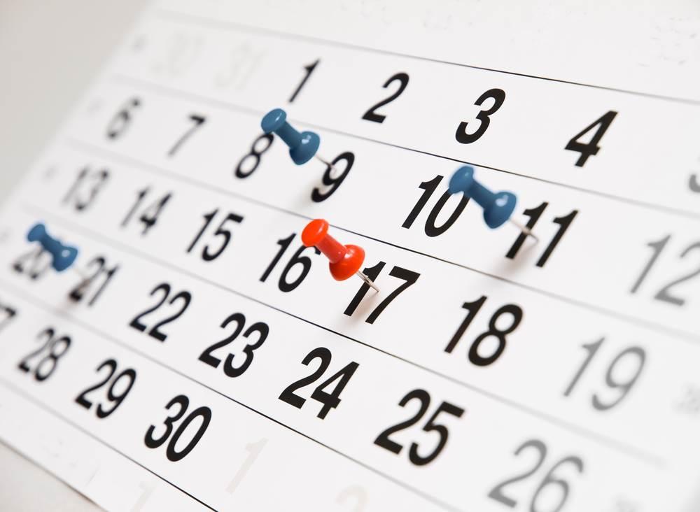shutterstock_262750391 Confira o calendário de encerramento 2018